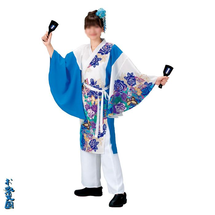 よさこいコスチューム 袖無し打合せ半纏 =よさこい衣装 YOSAKOIソーラン よさこい祭り=