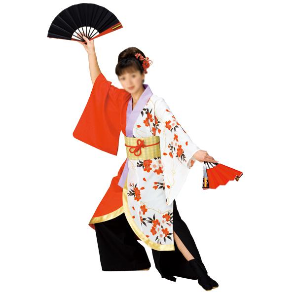 よさこいコスチューム・着物風打合せ半纏 =よさこい衣装、YOSAKOIソーラン、よさこい祭り=, 大原町:bb1b2332 --- officewill.xsrv.jp
