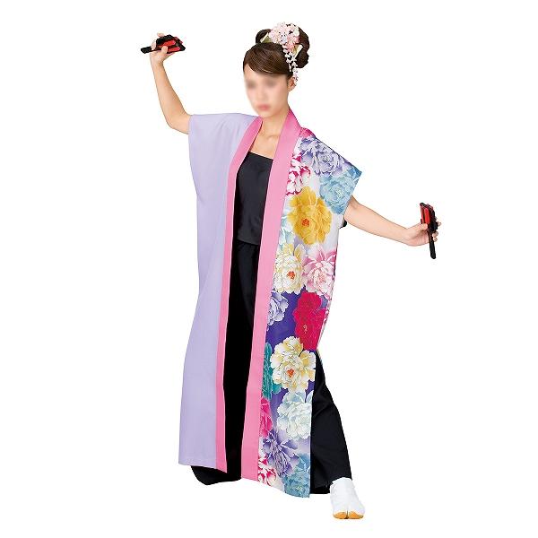よさこい袖無し半纏 半天 袢天 法被 半被 ポリエステル =よさこい衣装 YOSAKOIソーラン よさこい祭り=