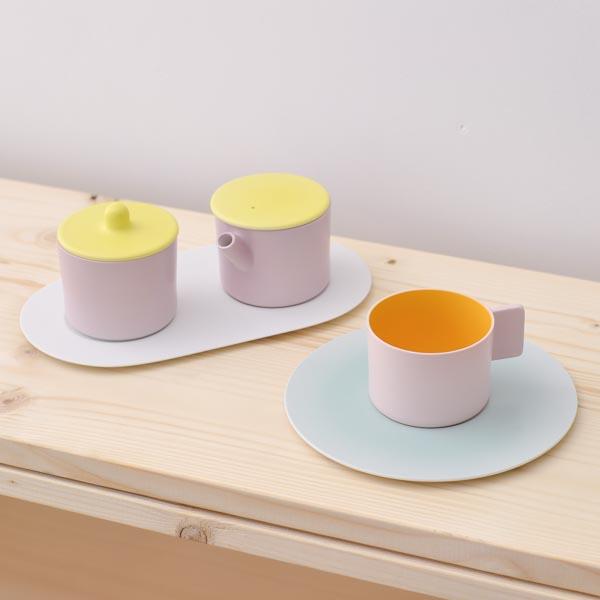 【送料無料】 S&B Coffee Sugar Milk Pink-Pink set ( 1616 / arita japan 有田焼 結婚 出産 内祝い 引き出物 金婚式 誕生日プレゼント 還暦祝い 古希 喜寿 米寿 プレゼント お祝い お返し 2018 両親 父 母 男性 女性 日本製 おすすめ おしゃれ かわいい 可愛い )