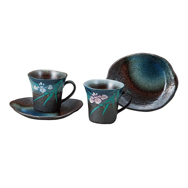 커피 컵 붓 꽃 (커피잔 경로의 날 도자기 세트 접시 찻잔 맛 있는 프리미엄 일식 그릇 결혼 출산 자축 선물 선물/축 하 답례 선물 2016 부모님 붓 남성 여성)