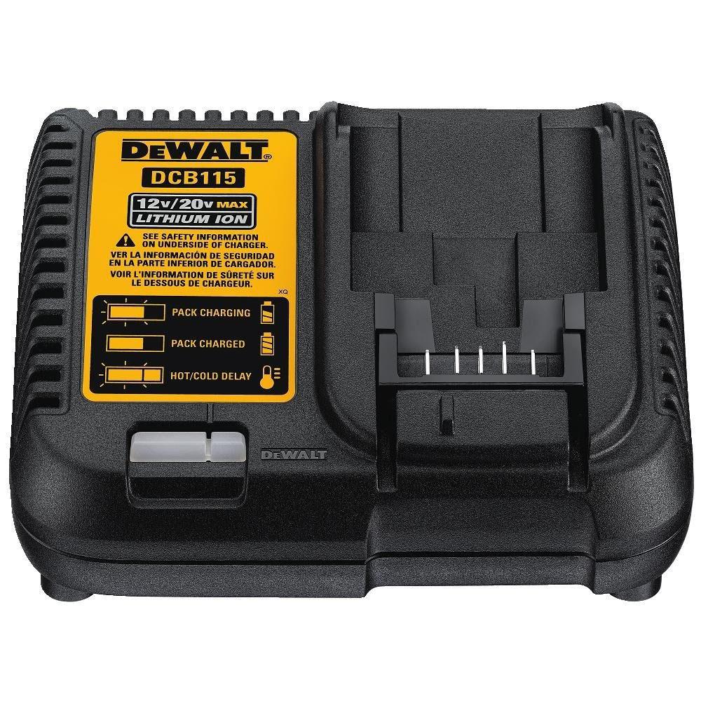 DEWALT デウォルト 10.8V/14.4V/18V リチウムイオン 充電器 DCB115 (DCB115-JP)