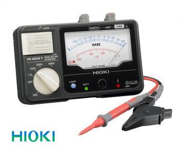 日置電機(HIOKI) 絶縁抵抗計 アナログメグオームハイテスタ4レンジ IR4041-10