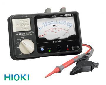 日置電機(HIOKI) 絶縁抵抗計 アナログメグオームハイテスタ3レンジ IR4032-11