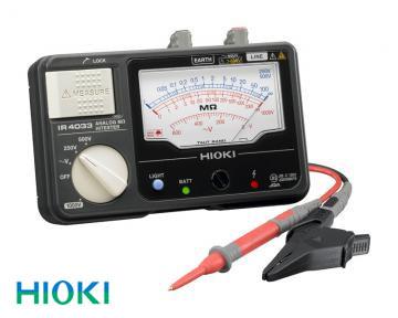日置電機(HIOKI) 絶縁抵抗計 アナログメグオームハイテスタ3レンジ IR4033-10