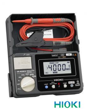 日置電機(HIOKI) 絶縁抵抗計 デジタル5レンジ IR4053-11