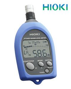 日置電機(HIOKI) 普通騒音計 FT3432(取引証明検定付き)