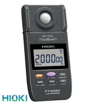 日置電機(HIOKI) 照度計 FT3424(取引証明検定付き)