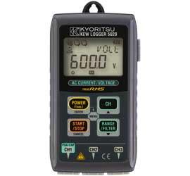 共立電気計器 電流・電圧用データロガー/キューロガー 5020