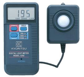 共立電気計器 デジタル照度計 5202