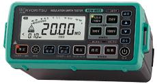 共立電気計器 デジタル絶縁・接地抵抗計/メモリ機能付モデル 6023