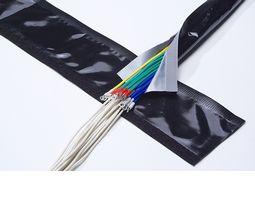 興和化成 マジックチューブ KMT-N25R (25Φ) リバーシブルタイプ / ブラック&グレー 25m巻 (KMTN25R)