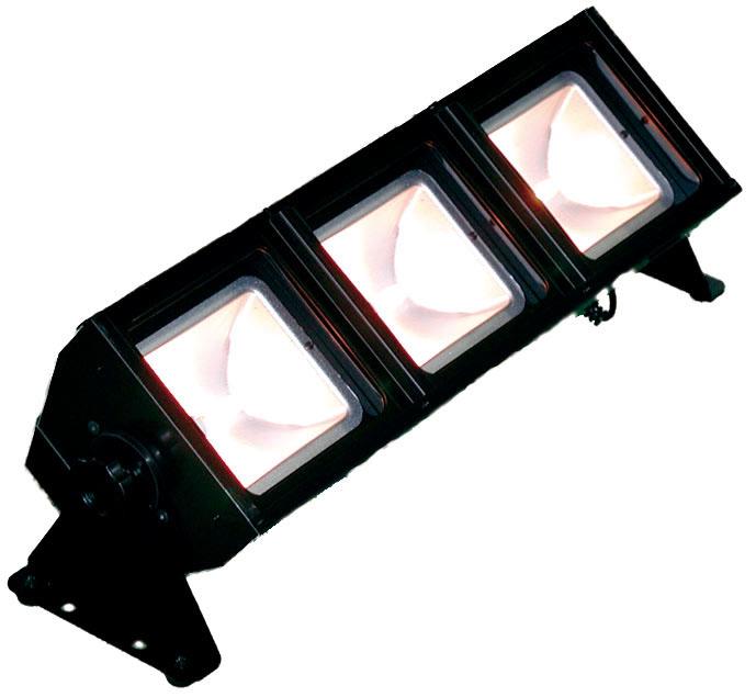 日照 舞台下部(床もの) NBF-2374K 85Wロアーホリゾントライト3灯 ブラック (NBF2374K)