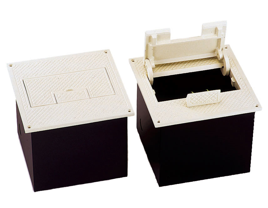 好評 日照 3ケ口 フロアーコンセント 15A  (NBF2243W):電材ほっとライン 店 NBF-2243W アイボリー-木材・建築資材・設備