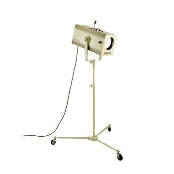 日照 スタンド式 NHP-5657 150WCDMピンスポットカラーホイル内蔵 (NHP5657)