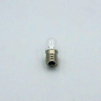 パイロットランプ(小型表示電球) T13/E12 60V3W (100個入) 電球形状T13/口金E12