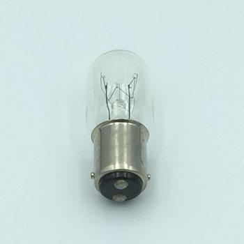 パイロットランプ(小型表示電球) T20/BA15D 220V15W (50個入) 電球形状T20/口金BA15D