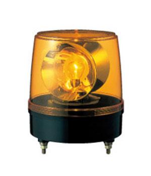 授与 パトライト 大型回転灯 評判 KG-100-Y AC100V 黄