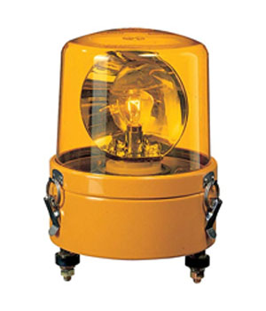 パトライト 大型回転灯 SKL-110CA-Y 黄 (AC100V)