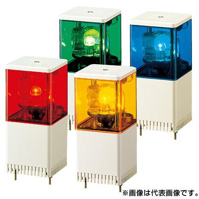 パトライト 小積層回転灯 KJS-110-R 赤 (1段式/AC100V)