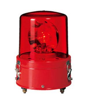 パトライト 耐振型大型回転灯 RV-120A-R 赤 (AC200V)