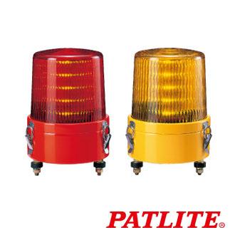 パトライト LED流動表示灯 KLE-24-R 赤 (AC/DC24V)