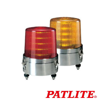パトライト LED流動表示灯 KLE-24S-R 赤 (AC/DC24V)