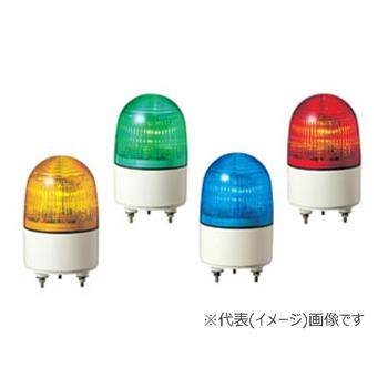 パトライト LED小型表示灯 PES-100A-Y 黄 (AC100V)
