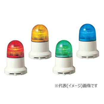 パトライト LED小型表示灯 PEW-100A-Y 黄 (AC100V)