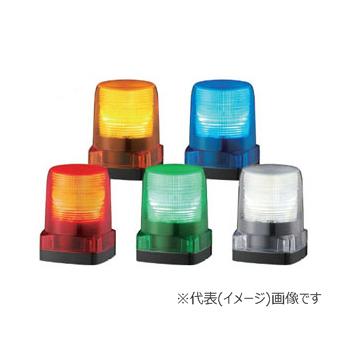 パトライト LED小型フラッシュ表示灯 LFH-M2-Y 黄 (AC100/120/200/230V)