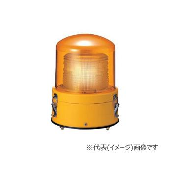 パトライト LEDフラッシュ表示灯 XME-12-Y 黄 (DC12V)