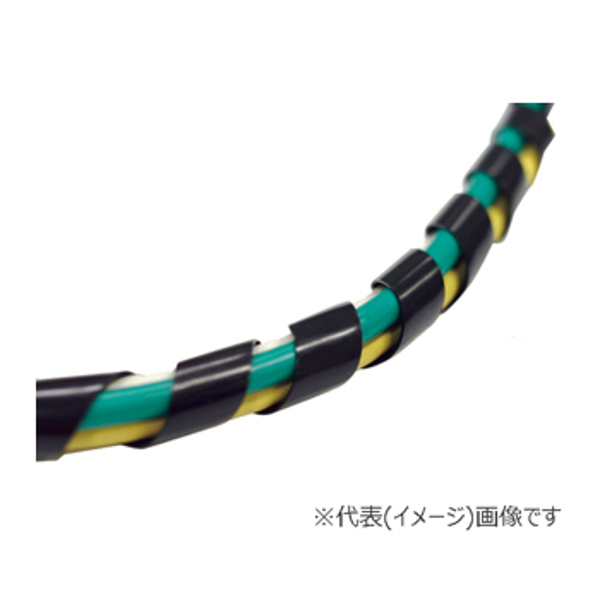 三和 スパイラルチューブ (耐候グレード) SST-50-B (黒/10m巻)