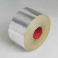 スリオンテック(日立マクセル) アルミガラスクロステープ NO.9812-50 (幅50mmX長さ20m) 54巻入