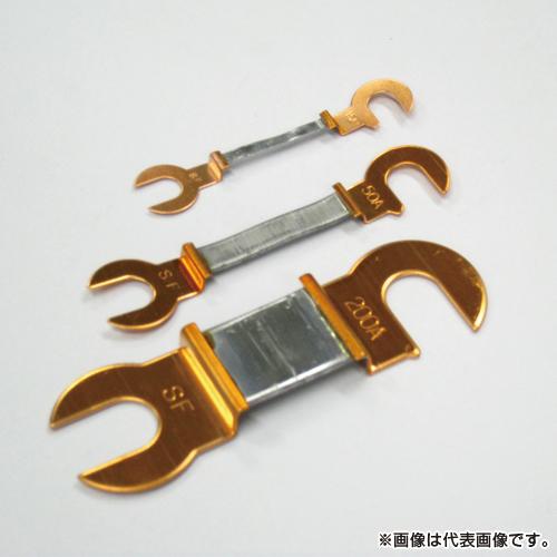 スターヒューズ PF 高級品 銅つめ付ヒューズ 受注生産品 6型 10個入 100ACSF55ミリ 100A
