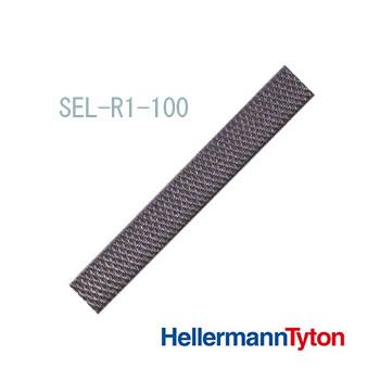 ヘラマンタイトン エンドレスタイ (耐候グレード) SEL-R1-100 リールストラップ 細幅タイプ (100M/巻)