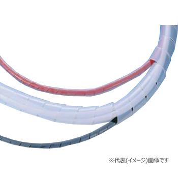 ヘラマンタイトン スパイラルチューブ 6ナイロン製 (耐熱グレード) TS-13N (乳白/50m巻)