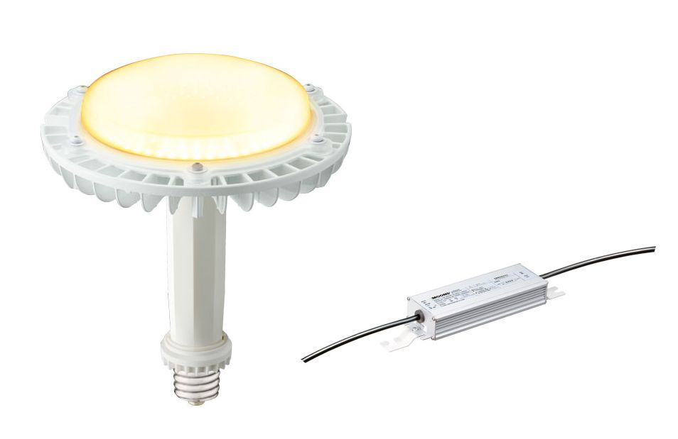 岩崎電気 レディオックLEDアイランプSP+電源ユニットのセット品 LDRS71L-H-E39/HB/H250 71W(屋内専用) 電源ユニット付