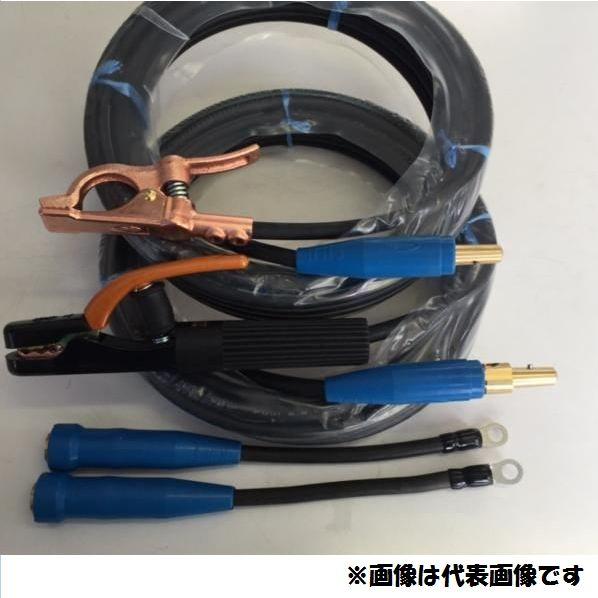 ☆新品☆溶接用キャブタイヤケーブル WCT14SQ 30m(ホルダー線+アース線)付属完成品 ジョイント2本付