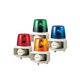 パトライト ホーンスピーカー一体型 マルチ電子音回転灯 ラッパッパ® RT-24A