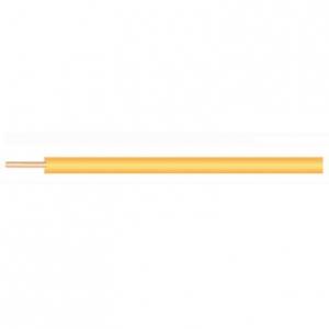 菅波電線 600Vビニル絶縁電線 より線 3.5㎟ 300m巻 黄色 IV3.5SQキイロ×300m