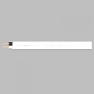 菅波電線 600Vビニル絶縁ビニルシースケーブル平形 2.0mm 2心 100m巻 予約販売品 正規激安 白 VVF2.0×2Cシロ×100m