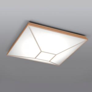 日立 LEDシーリングライト ~12畳 高級和風木枠タイプ 電球色~昼光色 連続調色・連続調光機能付 LEC-CH1202CJ