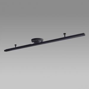 NEC 配線ダクトレール レール長:1100mm ブラック SD-1102L6A-K