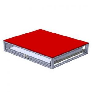ジェフコム バンキャビネット ワイド引き出しタイプ サイズ:幅1150×奥行950×高さ200mm SCT-W02