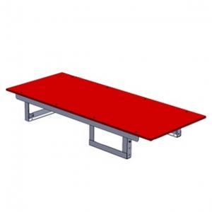 ジェフコム バンキャビネット テーブルタイプ サイズ:幅1400×奥行580×高さ200mm SCT-T03