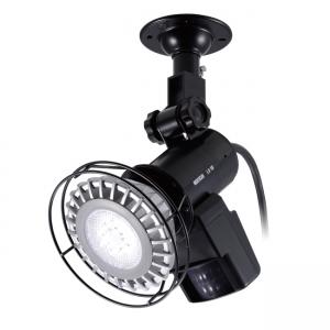OPTEX LEDセンサーライト ON/OFFタイプ 壁面・天井取付可能 LA-1LED(P)