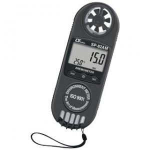 マザーツール ポケットサイズマルチ風速・風量計 MAX/MIN値表示・データホールド機能付 SP-82AT