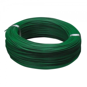 住電日立ケーブル 600V ビニル絶縁電線 アース線 より線 5.5㎟ 300m巻 緑 IV5.5SQ×300mミドリ