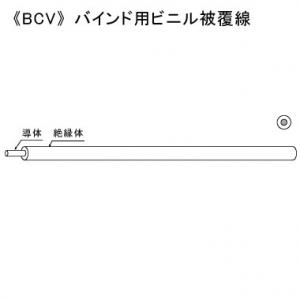 KHD バインド用ビニル被覆線 1.6mm 300m巻 黒 BCV1.6×300mクロ