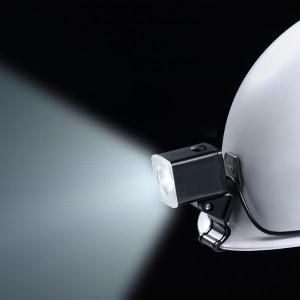 長谷川電機工業 LEDヘルメットライト 手元・足元灯タイプ 広角 クリップ式 MP型ヘルメット用 EHL-2